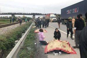Kinh hoàng xe tải đâm vào đoàn người đưa tang khiến 8 người chết