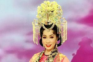 Á hậu Trịnh Kim Chi hóa thân vào vai Thiên hậu cho 'Táo quân'