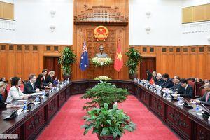 Thủ tướng tiếp Chủ tịch Thượng viện Australia