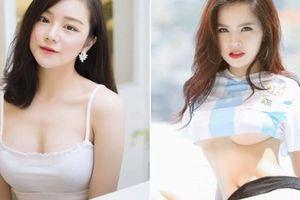 Ủng hộ ĐT Việt Nam, loạt cổ động viên nữ nổi tiếng sau 1 đêm vì quá xinh