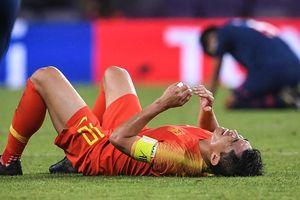Đội tuyển Trung Quốc đã hoàn thành mục tiêu chính