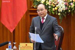 Thủ tướng dự họp sơ kết Tổ công tác của Thủ tướng Chính phủ
