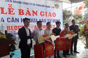 Đà Nẵng: Bàn giao căn hộ chung cư cho người thu nhập thấp