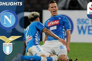Napoli - Lazio 2-1: Jose Callejon, Milik giành 3 điểm, rút ngắn khoảng cách với Juve