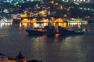 Chân tướng tàu chiến Mỹ đang làm nóng biển Đen