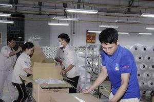 Nhà máy sản xuất Xơ sợi Đình Vũ nâng công suất lên 10 dây chuyền sản xuất sợi DTY