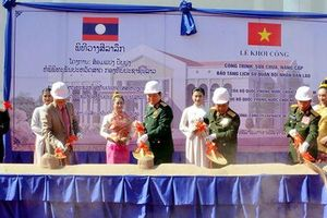 Tình đoàn kết quân đội Việt - Lào