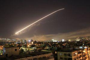 Phòng không Syria đánh chặn thành công tên lửa Israel