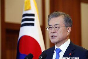 Tổng thống Hàn Quốc kêu gọi Mỹ nắm bắt thời cơ với Triều Tiên