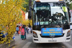 TP.HCM tặng hơn 4.000 vé xe cho công nhân về quê đón Tết