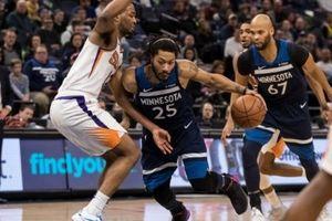 Bất lực trước Derrick Rose, Phoenix Suns nhận thất bại thứ tư liên tiếp