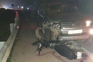 Bị ô tô kéo lê, Phó trạm y tế tử vong