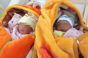 Cặp song sinh vừa chào đời đã mồ côi vì mẹ tử vong do băng huyết