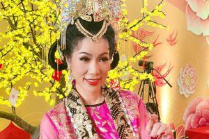 Á hậu Trịnh Kim Chi lần thứ 4 làm Thiên Hậu trong kịch 'Táo Quân'
