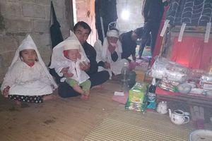 Hai bé trai song sinh vừa chào đời đã mồ côi vì mẹ bị băng huyết tử vong
