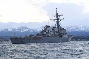 Hải quân Nga 'bám sát' tàu khu trục tên lửa Mỹ trên Biển Baltic