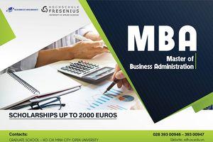 Trường Đại học Mở TP. Hồ Chí Minh liên kết với trường đại học Fresenius (Đức) đào tạo Thạc sĩ Quản trị kinh doanh quốc tế