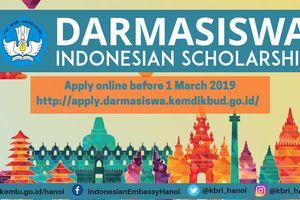 Cơ hội học tập tại Indonesia với học bổng Darmasiswa
