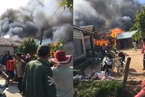 3 căn nhà ở Gia Lai bị thiêu rụi ngày giáp Tết