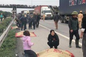 Hải Dương: Xe tải đâm 8 người đang đi viếng nghĩa trang tử vong