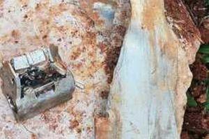 Tìm thấy mảnh vỡ tên lửa từ cuộc không kích của Isarel