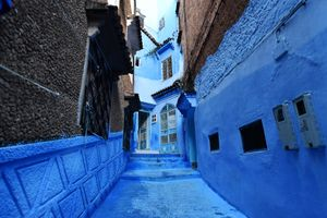 Thành phố màu xanh, bảo vật của Morocco