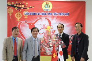 Lãnh đạo tỉnh Thừa Thiên - Huế đồng hành chăm lo đời sống NLĐ dịp tết.
