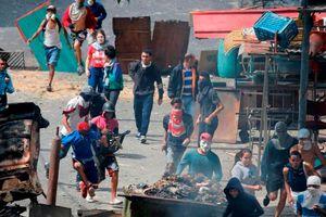 Nhóm binh sĩ kêu gọi biểu tình, âm mưu lật đổ chính quyền Venezuela
