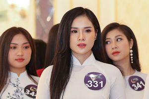 Bạn gái cầu thủ Trọng Đại thi 'Hoa hậu Bản sắc Việt toàn cầu 2019'