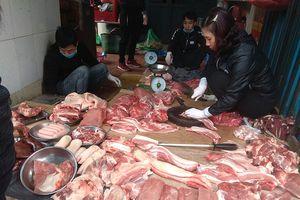 Nhiều áp lực khiến giá thịt lợn dịp Tết Nguyên đán 2019 tăng cao