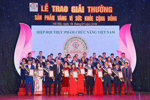 Heroperfect, Triselan nhận giải Sản phẩm vàng vì sức khỏe cộng đồng