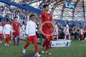 Chỉ 1 chi tiết nhỏ đã đủ thấy Tư Dũng có cách nhớ đồng đội Trọng ỉn thú vị như thế nào tại Asian Cup 2019