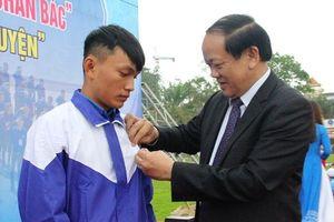 Quảng Nam: 4 thanh niên được trao tặng Huy hiệu Tuổi trẻ dũng cảm