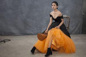 Hoa hậu Tiểu Vy lột xác đầy khác lạ trong bộ ảnh mới