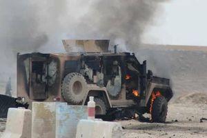 Khủng bố tấn công liều chết vào đoàn xe chở lính Mỹ tại Syria