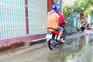 TP Quy Nhơn (Bình Định): Khu dân cư Hóc Bà Bếp quanh năm ngập nước