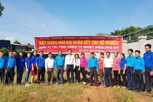 Công ty Nhiệt điện Phú Mỹ trao nhà Đại đoàn kết cho hộ nghèo