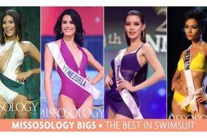 H'Hen Niê lọt top hoa hậu trình diễn bikini đẹp nhất thế giới