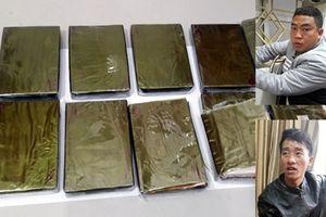 Vận chuyển 10 bánh heroin từ Trung Quốc về Lào Cai