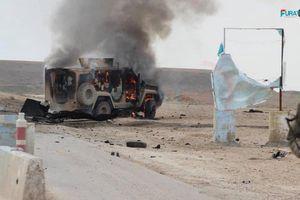 Đoàn xe của lực lượng Mỹ và đồng minh bị đánh bom tại Syria