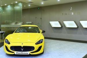 Maserati GranTurismo Sport vàng Giallo 'khoe dáng' gữa Sài Thành