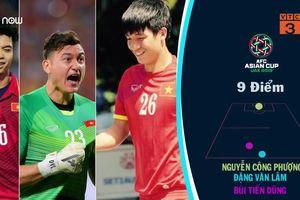 Chấm điểm dàn cầu thủ Việt trận gặp Jordan: Ai đạt điểm cao nhất?