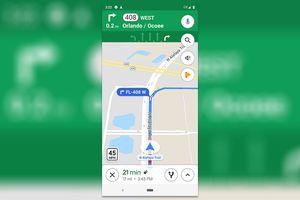 Google Maps sẽ hiển thị giới hạn tốc độ trong ứng dụng Android và iOS