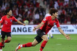 Hàn Quốc vào tứ kết sau trận thắng sát nút