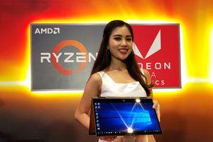 HP giới thiệu loạt máy tính trang bị bộ xử lý AMD