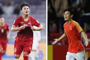 Quang Hải chiến thắng cầu thủ Trung Quốc ở giải bàn thắng đẹp Asian Cup