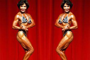 Nhiều người thán phục thân hình đẹp của cụ bà 73 tuổi Josefina