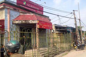 Hung thủ cướp 200 triệu tại chi nhánh Ngân hàng Agribank Thái Bình