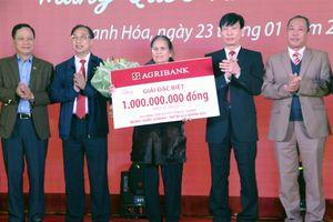 Agribank trao giải đặc biệt cho khách hàng