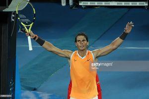 Tứ kết Australia mở rộng: Nadal thể hiện đẳng cấp